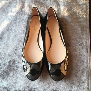 Coach Leather Flats shoes 6.5